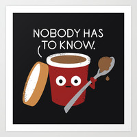 Cold Comfort Art Print by David Olenick
