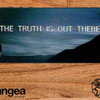 The X Files The Truth is Out There phone case fits iPhone 4/4s/5/5s/5c/6/6+, Galaxy S3/S4/S5