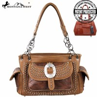 Montana West MW149G-8085 Concealed Carry Handbag