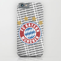 FC Bayern München iPhone & iPod Case by KJ53321