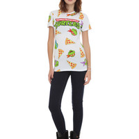 Teenage Mutant Ninja Turtles Pizza Girls T-Shirt