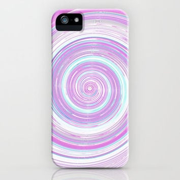 Re-Created Spin Painting No. 14 iPhone & iPod Case by Robert Lee