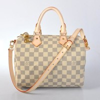 Louis Vuitton LV Women Man Fashion Leather Satchel Shoulder Bag Handbag Crossbody