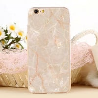 Marble Stone Protect iPhone 5s 6 6s Plus Case + Gift Box-131