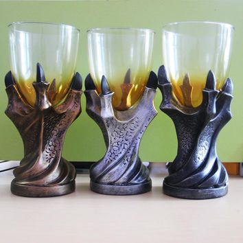 "3D Game of Thrones Mug ""A Song Of Ice And Fire""  Skull Dragon Claw Cup Dragon Glass Shot Cup Beer Glass Cup 1 pc"