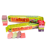 Starburst Fruit Chews Candy Packs - Sweets and Sours: 24-Piece Box
