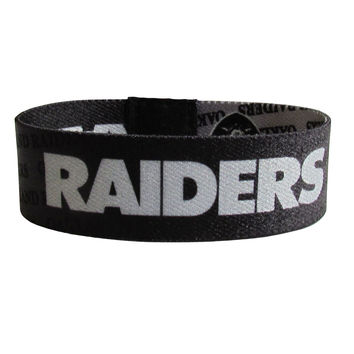Oakland Raiders Stretch Bracelets