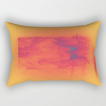 Body Heat Rectangular Pillow by DuckyB