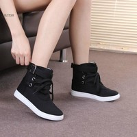 High Quality Women Boots Winter Casual Brand Warm Shoes Unisex Boots Leather Plush Fur Fashion Boots Shoes Woman