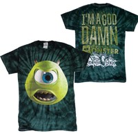 Monster Green Tie Dye : UABB : MerchNOW - Your Favorite Band Merch, Music and More