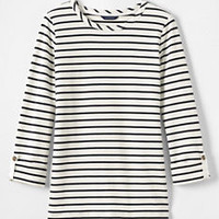 Women's Starfish Roll Sleeve Top from Lands' End