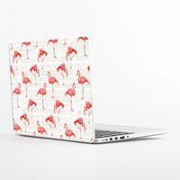 Flamingo Bird Background Laptop Skin