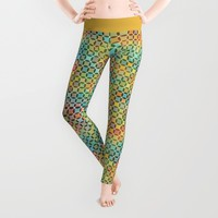 Dots in Dots Leggings by Klara Acel