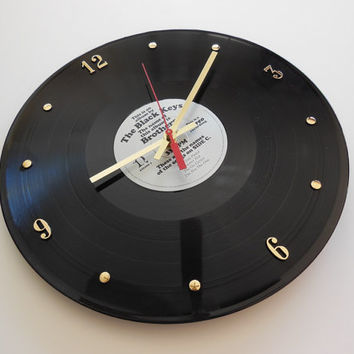 THE BLACK KEYS Record Clock (Brothers)