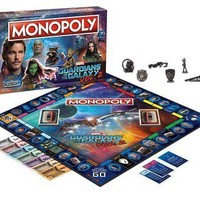 USAopoly Guardians of the Galaxy Volume 2 Edition Monopoly Board Game NEW GotG