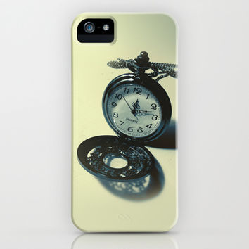 The Pocket Watch iPhone & iPod Case by Art Alex