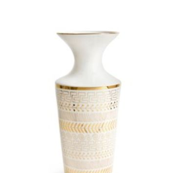 Jonathan Adler | Futura Greek borders vase | Lane Crawford - Shop Designer Brands Online