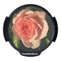 Rose Beautiful Pink Flower LED Car Decal
