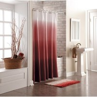Threshold™ Ombre Shower Curtain - Red