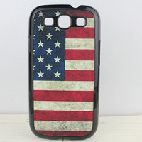 Retro The Old Glory Hard Case Cover for Samsung Galaxy S3 i9300