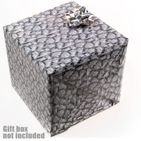 J!NX : Minecraft Cobblestone Wrapping Paper