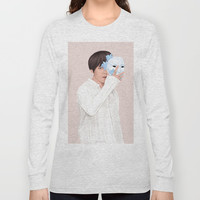 BTS Taehyung | Singularity Long Sleeve T-shirt by marylobs