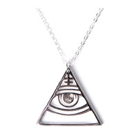 Oracle All Seeing Eye Necklace