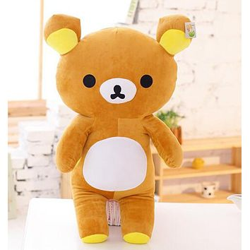 "13.7"" Brown Rilakkuma Bear Plush"
