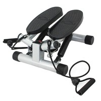 Sunny Health & Fitness Twisting Stair Stepper with Bands