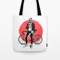 Cool Death Tote Bag by Marcelocamacho