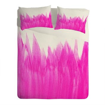 Allyson Johnson Pink Brushed Sheet Set Lightweight