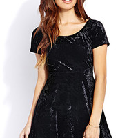 Enchanted Velveteen Babydoll Dress