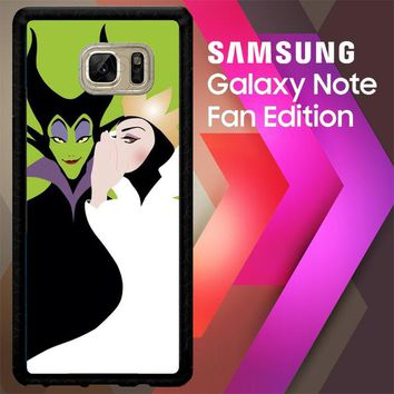 Evil Queen And Maleficent X4713 Samsung Galaxy Note FE Fan Edition Case