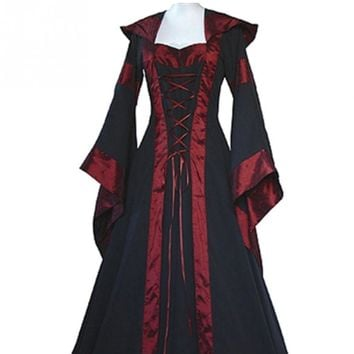 e98880a4542be1 Renaissance Women Costume Medieval Maiden Fancy Cosplay Over Dre