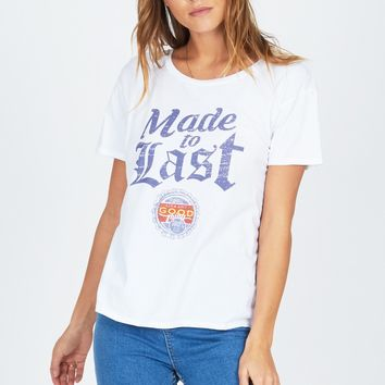 AMUSE SOCIETY | Made to Last Tee - White