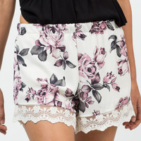 Vintage Rosey Shorts
