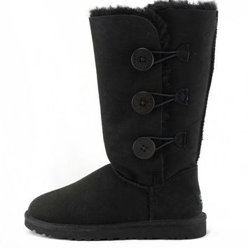 LNFNO UGG Australia for Women: Bailey Triplet Black Boots