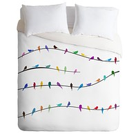 Belle13 Happy Spring Duvet Cover