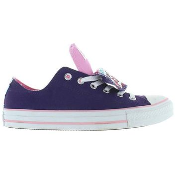 Converse All-Star Chuck Taylor 2X Tongue - Grape/Lady Pink Canvas Double Tongue Low Top Sneaker