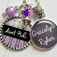 Personalized Aunt Necklace