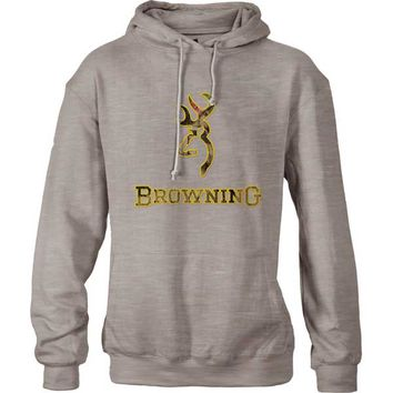 Browning Men's Applique Hoodie Sweatshirt