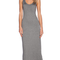 Feel the Piece Trudy Maxi Dress in Gray