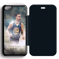 Stephen Curry Golden State Warriors Flip iPhone 5C Case