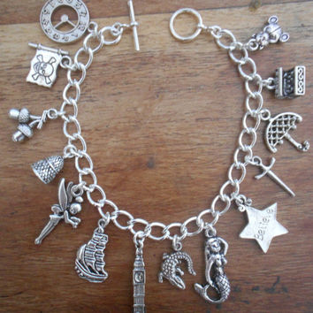 Peter Pan Charms Bracelet