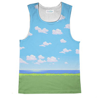 Pixel Days Loose Tank Top