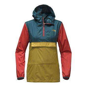 Women's Fanorak in Olivenite Yellow Multi by The North Face