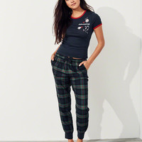 Girls Holiday Flannel Sleep Set | Girls New Arrivals | HollisterCo.com