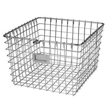 Medium Storage Basket Chrome
