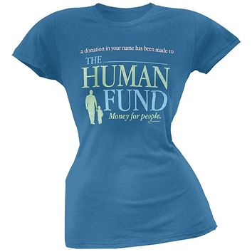 Seinfeld - Human Fund Juniors T-Shirt