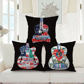 Rock N Roll Sunshine State Route 66 Music Lover Guitarist Home Décor